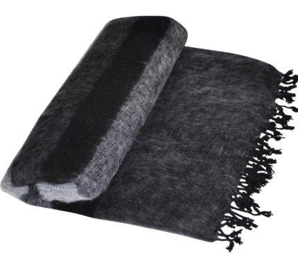 nepal decke schwarz wei online kaufen shawls 4 you. Black Bedroom Furniture Sets. Home Design Ideas