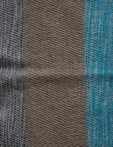 Nepal Blanket, Blau, Grau