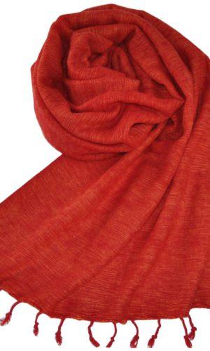 Nepal Woll Tücher Rot aus yak wolle - online kaufen - shawls4you.de