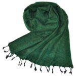 Nepal Wrap Grün aus yak wolle – online kaufen – shawls4you.de