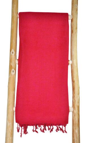 Nepal Wrap Rot, Rosa aus Nepal - Online Kaufen - Shawls4you.de