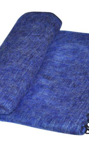 Nepal Couchdecke Jeansblau | fair-trade | Online Kaufen | Shawls4you.de