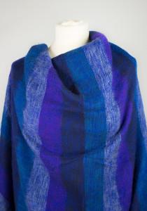 Tibet Schal Blau Violett