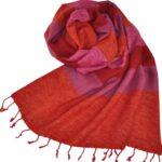 Tibetische Tücher Rosa - online kaufen -Shawls4you