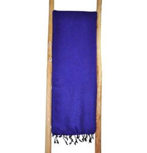 Tibetische Wohndecke Lila Yak Wolle - Online Kaufen( Shawls4you