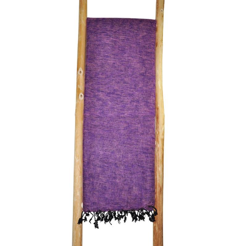 Nepal Plaid violett aus yakwolle – Online Kaufen – Shawls4you.de