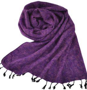 Nepal Schal Lila - online bestellen -Shawls4you