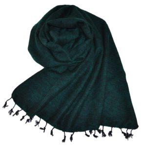 Nepal Schal Smaragdgrün   fair-trade   Online Kaufen   Shawls4you.de