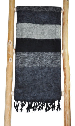Yak Tücher schwarz grau aus Nepal - online Kaufen - shawls4you.de