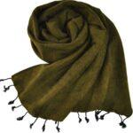 nepal Schal grün - Online kaufen -Shawls4you.de
