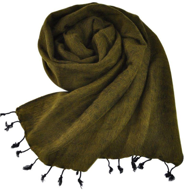 nepal Schal grün – Online kaufen -Shawls4you.de