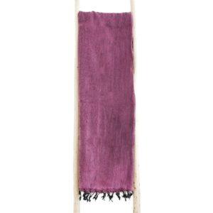 Nepal Decke Aubergine aus yakwolle - Online Kaufen - Shawls4you.de