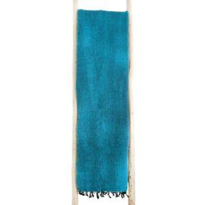 Nepal Decke Türkis aus yakwolle - Online Kaufen - Shawls4you.de