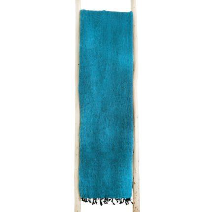 Nepal Decke Türkis aus yakwolle – Online Kaufen – Shawls4you.de