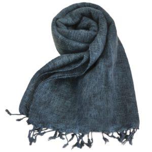 Nepal Schal Anthrazitgrau | fair-trade | Online Kaufen | Shawls4you.de