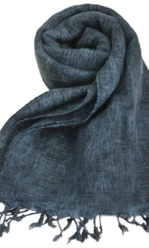 Nepal Schal Anthrazitgrau | fair-trade | Online Kaufen | Shawls4you.de