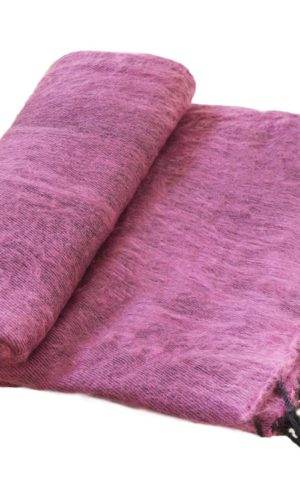 Nepal Couchdecke Aubergine | fair-trade | Online Kaufen | Shawls4you.de