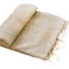 Nepal Couchdecke Beige | fair-trade | Online Kaufen | www.Shawls4you.de