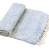 Nepal Decke Hellgrau aus yakwolle - Online Kaufen - Shawls4you.nl