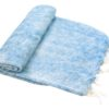 Nepal Decke Hellblau aus yakwolle - Online Kaufen - Shawls4you.de