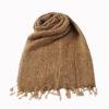 Nepal Schal Beige | fair-trade | Online Kaufen | www.Shawls4you.de