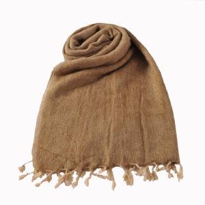 Nepal Schal Beige   fair-trade   Online Kaufen   www.Shawls4you.de