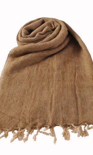 Nepal Schal Beige | fair-trade | Online Kaufen | www.Shawls4you.de