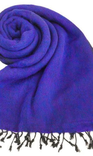 Nepal Schal Violett | fair-trade | Online Kaufen | www.Shawls4you.de