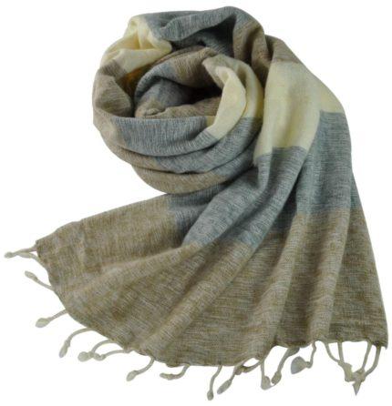 nepal-sjaal-grijs-creme-gestreept-online-bestellen-Shawls4you-987×1024
