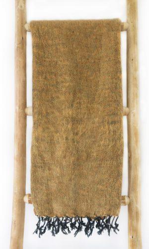 Nepal Schal Braun aus yakwolle - Online Kaufen - Shawls4you.nl