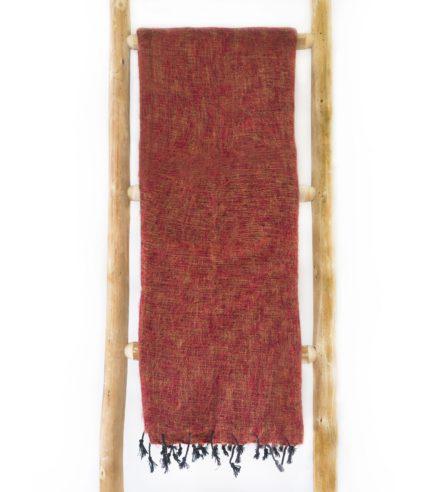 Nepal Schal Brique aus yakwolle – Online Kaufen – Shawls4you.nl