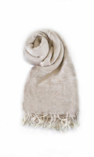 Nepal Schal Nude | fair-trade | Online Kaufen | www.Shawls4you.de