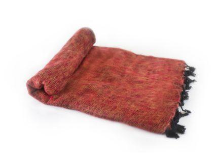 Nepal Decke Brique aus yakwolle – Online Kaufen – Shawls4you.de