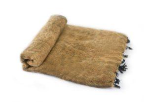 Nepal Decke Braun aus yakwolle - Online Kaufen - Shawls4you.de