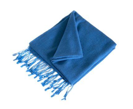 Pashmina Blau | fair-trade | online bestellen | www.Shawls4you.de