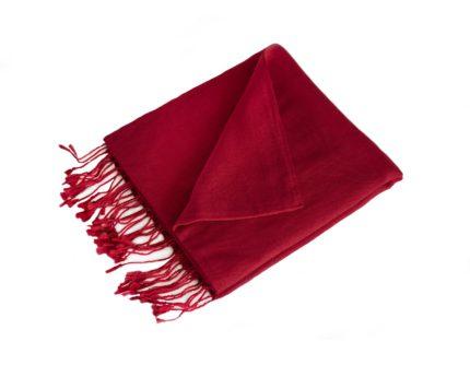Pashmina Warmes Rot | fair-trade | online bestellen | www.Shawls4you.de