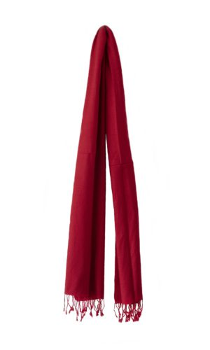 Pashmina Warmes Rot | fair-trade | online bestellen | www.Shawls4you.de