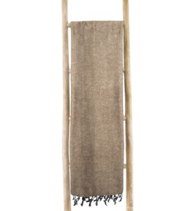 Decke havanna braun | fairtrade | Nepal | shawls4you.de