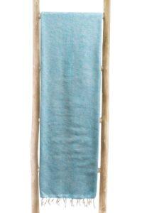 Decke Ocean Blue | fairtrade | Nepal | shawls4you.de